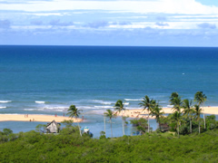 beach in Trancoso, Bahia